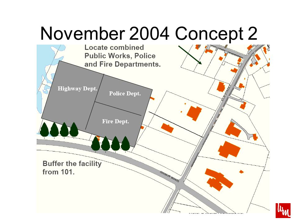 Weller & Michal Architects Inc. November 2004 Concept 2