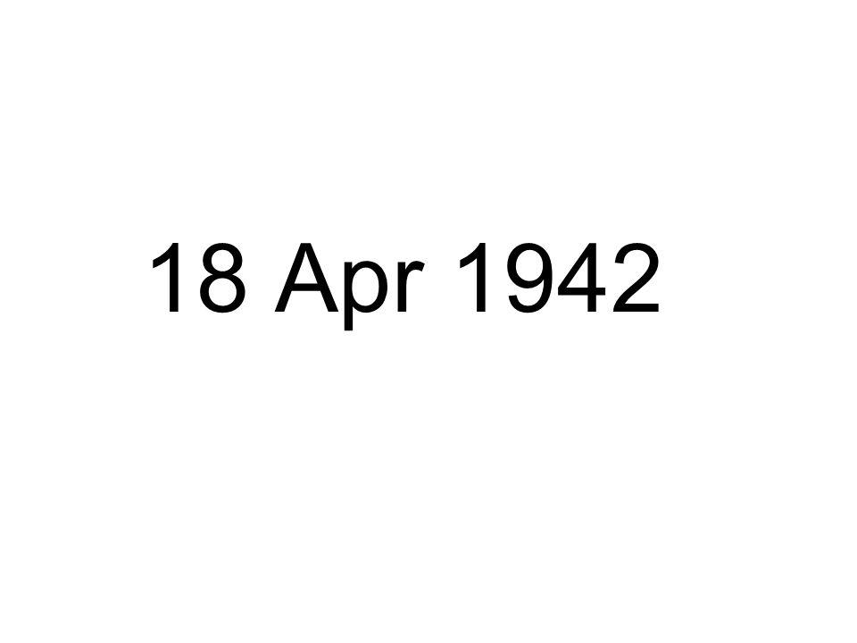 18 Apr 1942