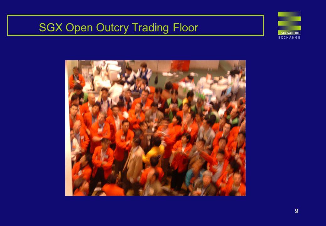 9 SGX Open Outcry Trading Floor
