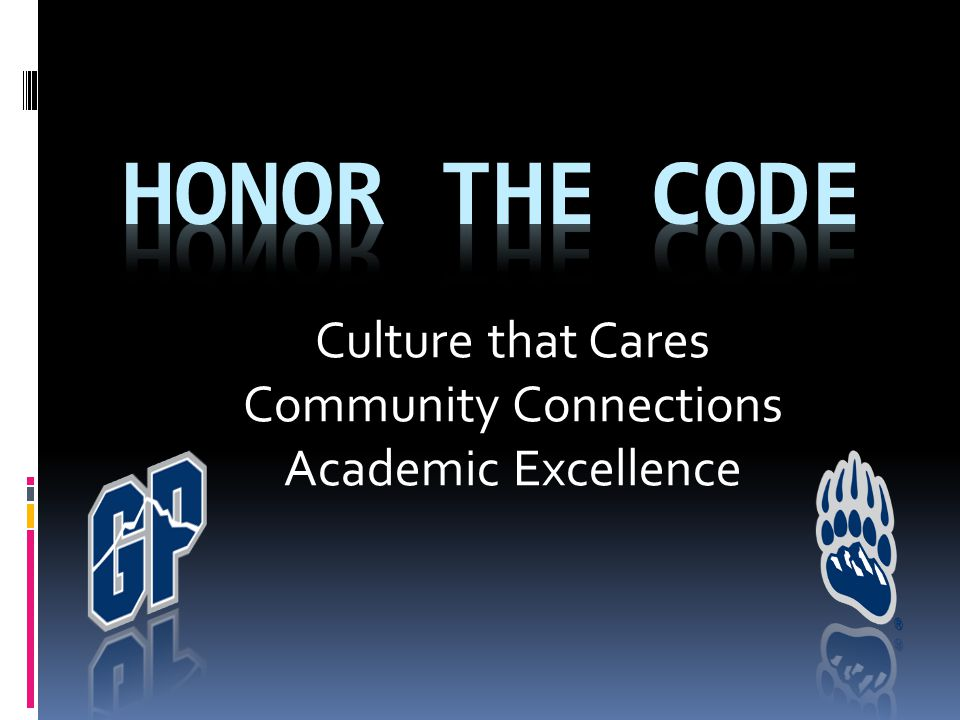 Culture that Cares Community Connections Academic Excellence