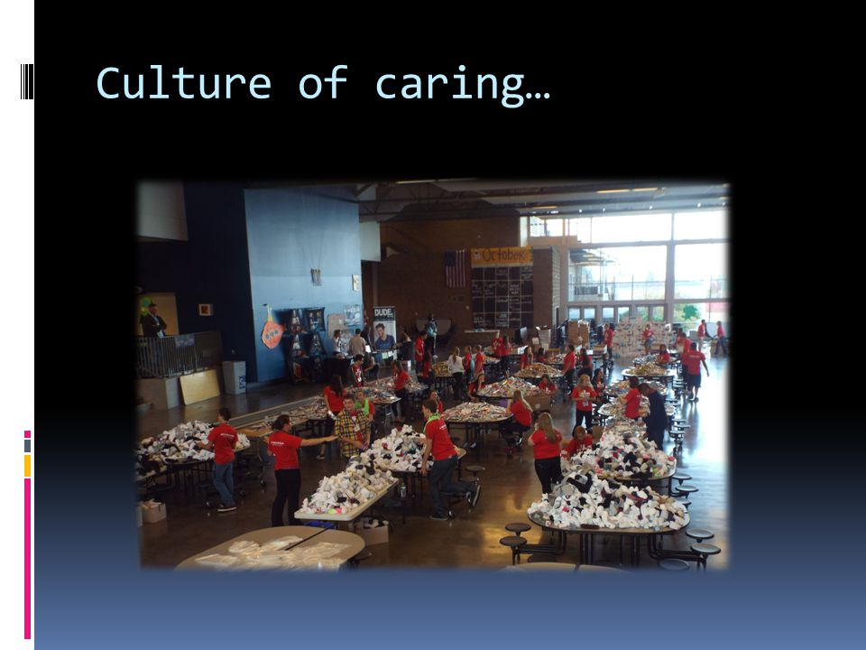 Culture of caring…