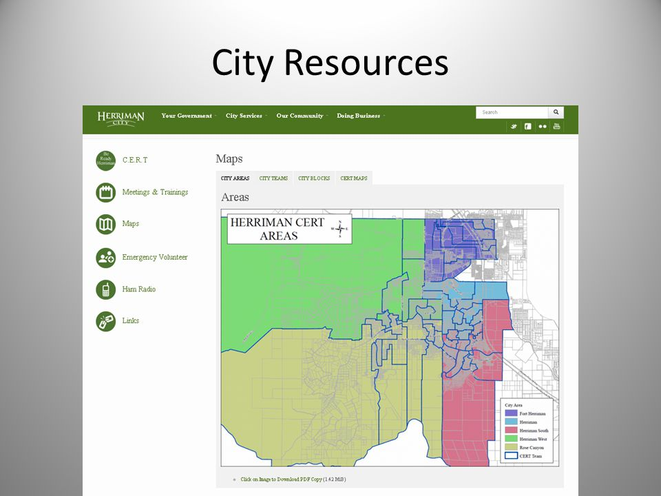 City Resources
