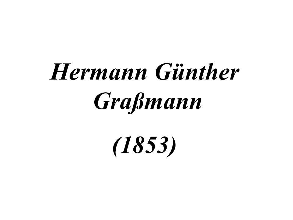 Hermann Günther Graßmann (1853)