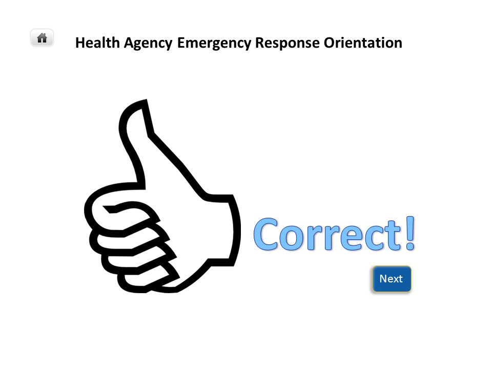 Health Agency Emergency Response Orientation San Luis Obispo County is a safe, healthy, livable, prosperous, and well-governed community.