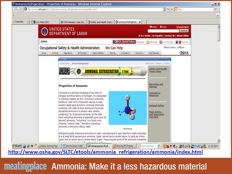 http://www.osha.gov/SLTC/etools/ammonia_refrigeration/ammonia/index.html