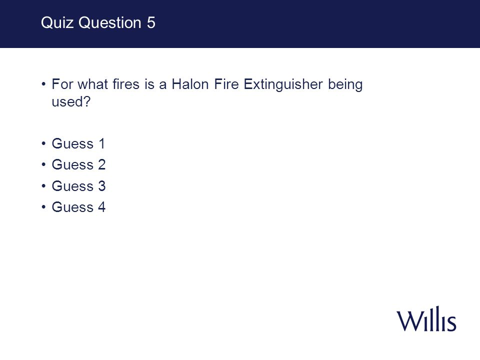 Halon Halon fire extinguisher is important device to have, especially for emergency situations.