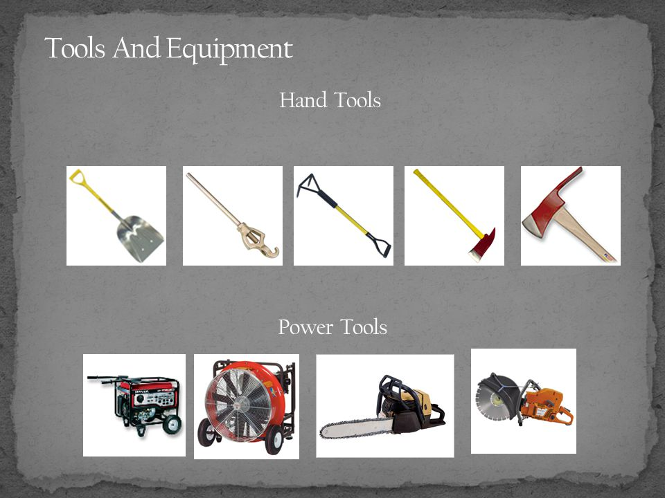Hand Tools Power Tools