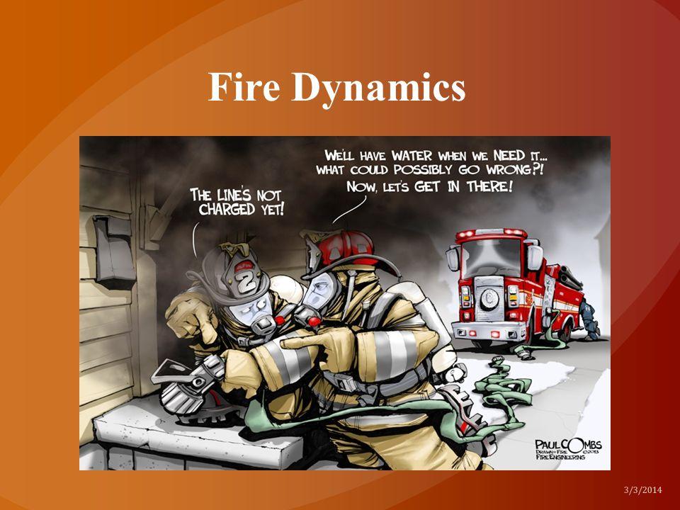 Fire Dynamics 3/3/2014