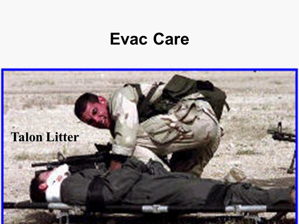 Evac Care Talon Litter