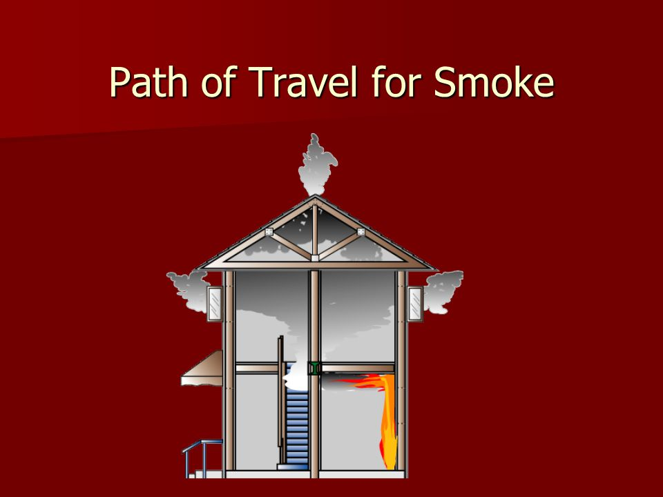 Path of Travel for Smoke