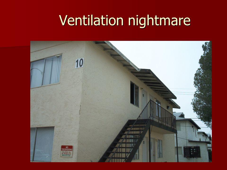 Ventilation nightmare