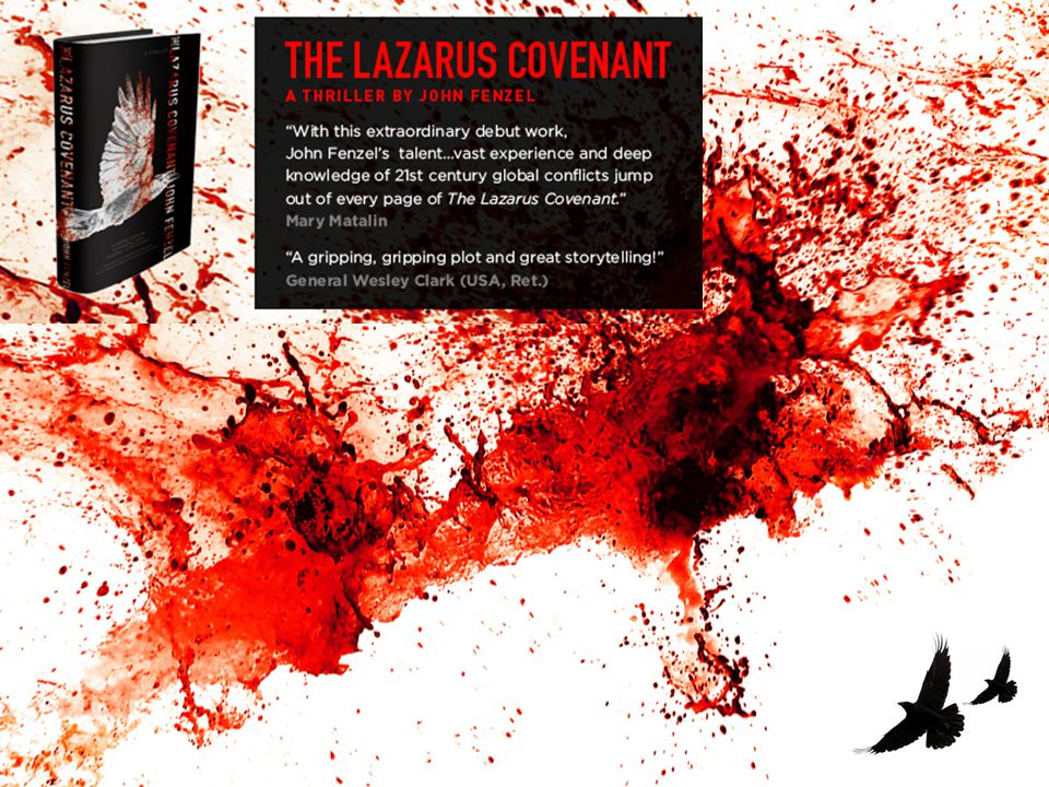 The Lazarus Covenant weaves the haunting history of the Balkan wars with a contemporary tale of nuclear terrorists on the loose, all the while catapulting the reader through the hairpin turns of its suspenseful plot.