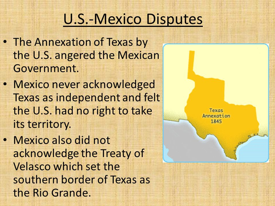 The loss of Texas will inevitably result in the loss of New Mexico and the Californias.