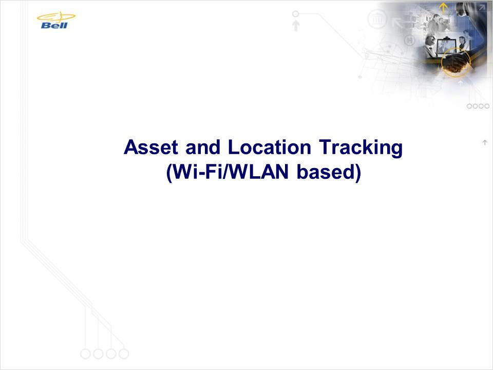 Asset and Location Tracking (Wi-Fi/WLAN based)
