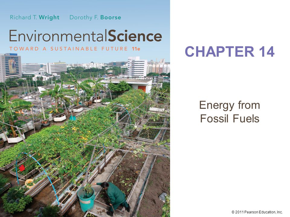 © 2011 Pearson Education, Inc. Global primary energy supply