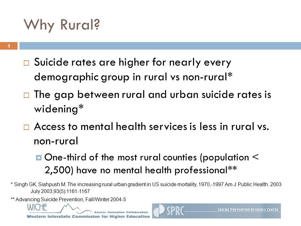 Why Rural.