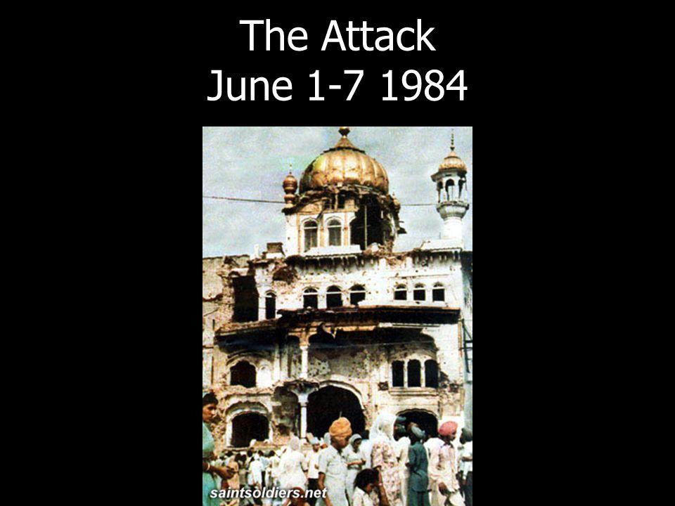 The Attack June 1-7 1984