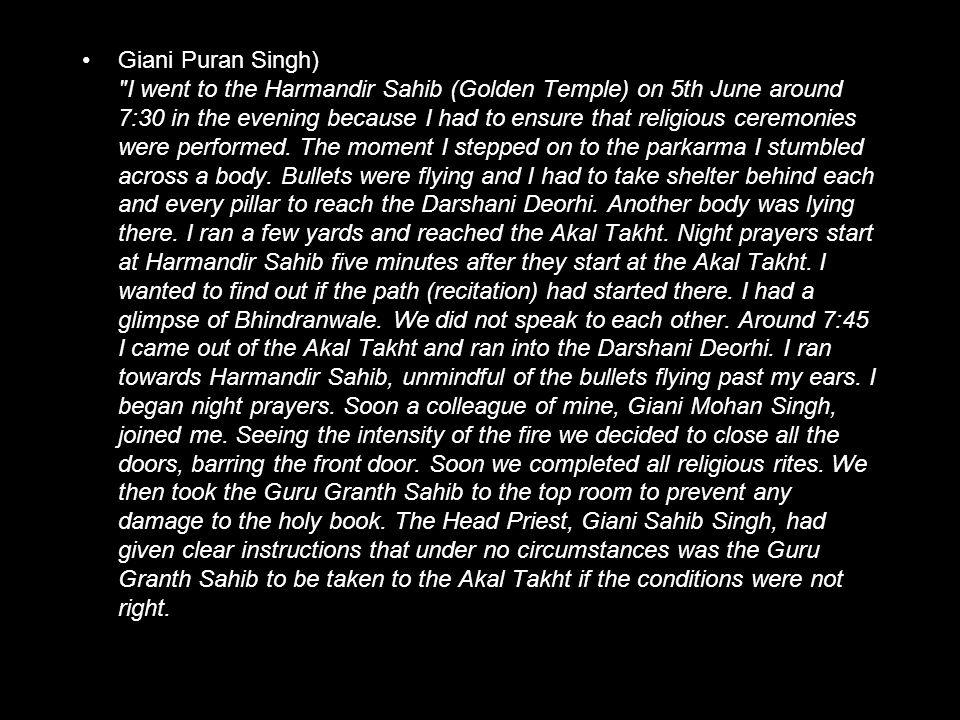 Giani Puran Singh)