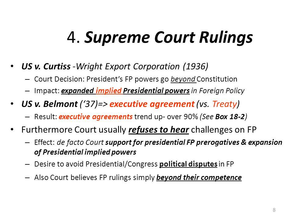 4.Supreme Court Rulings US v.