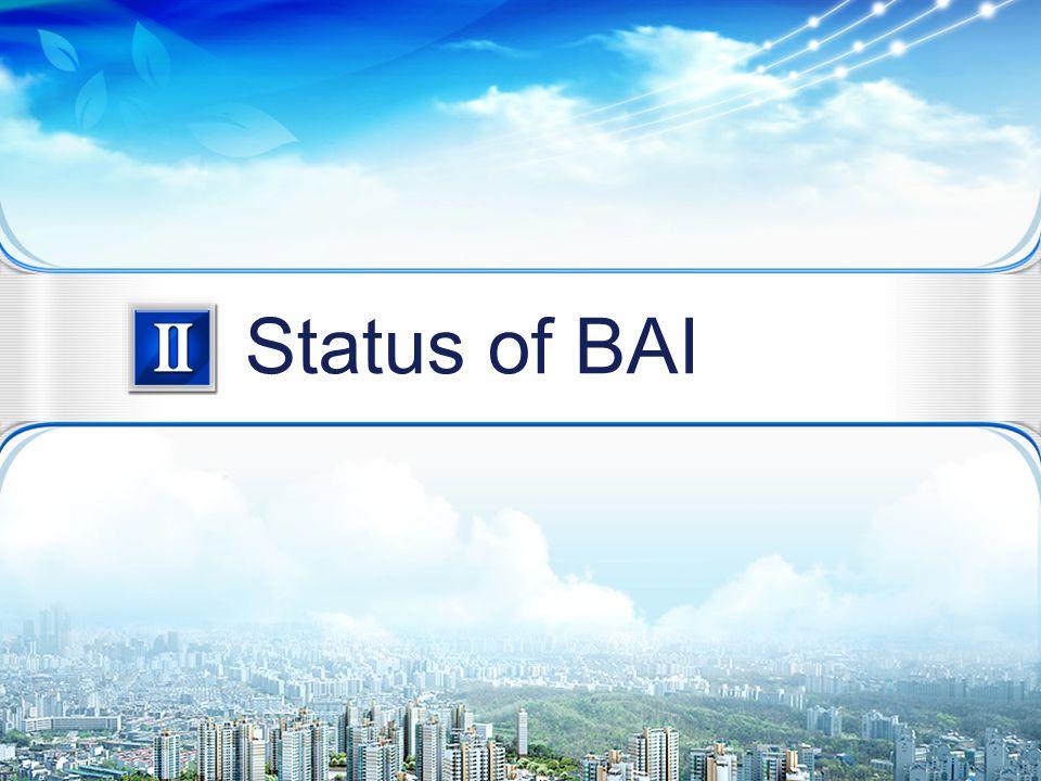 5/22 Status of BAI