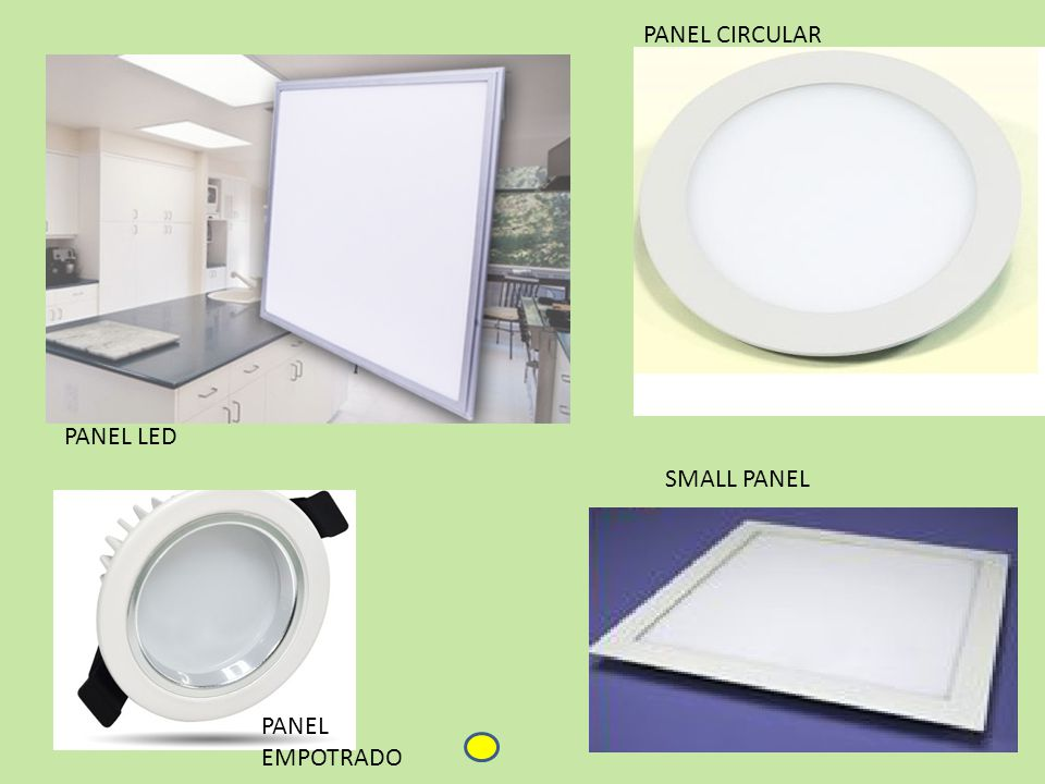 PANEL LED PANEL EMPOTRADO PANEL CIRCULAR SMALL PANEL