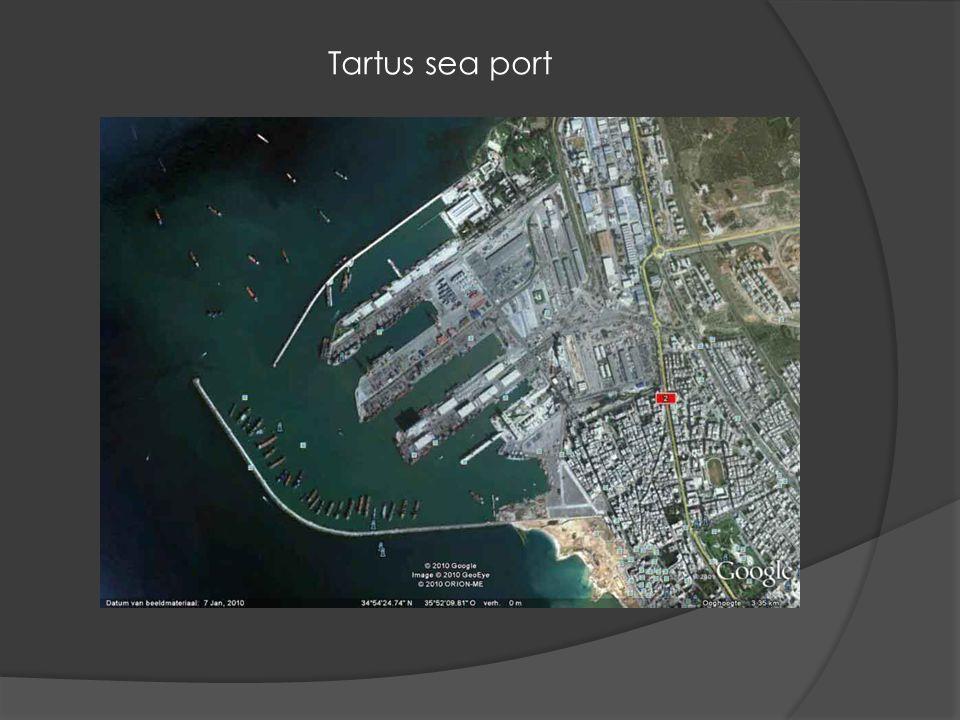 Tartus sea port