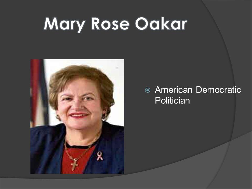  American Democratic Politician
