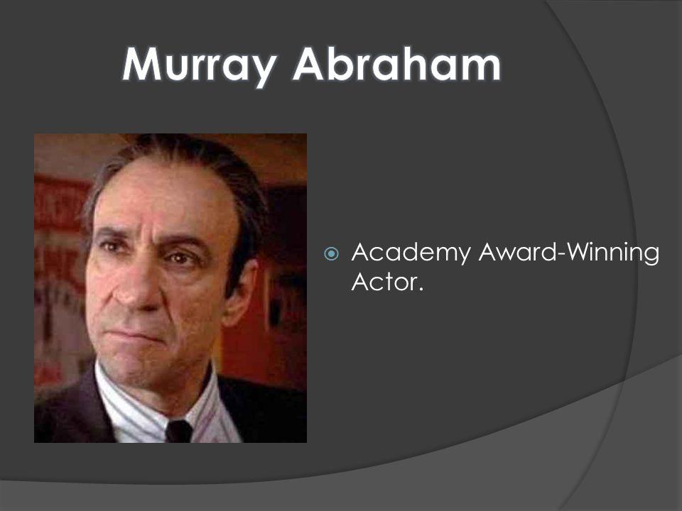  Academy Award-Winning Actor.