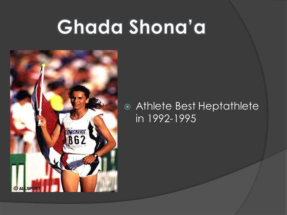  Athlete Best Heptathlete in 1992-1995