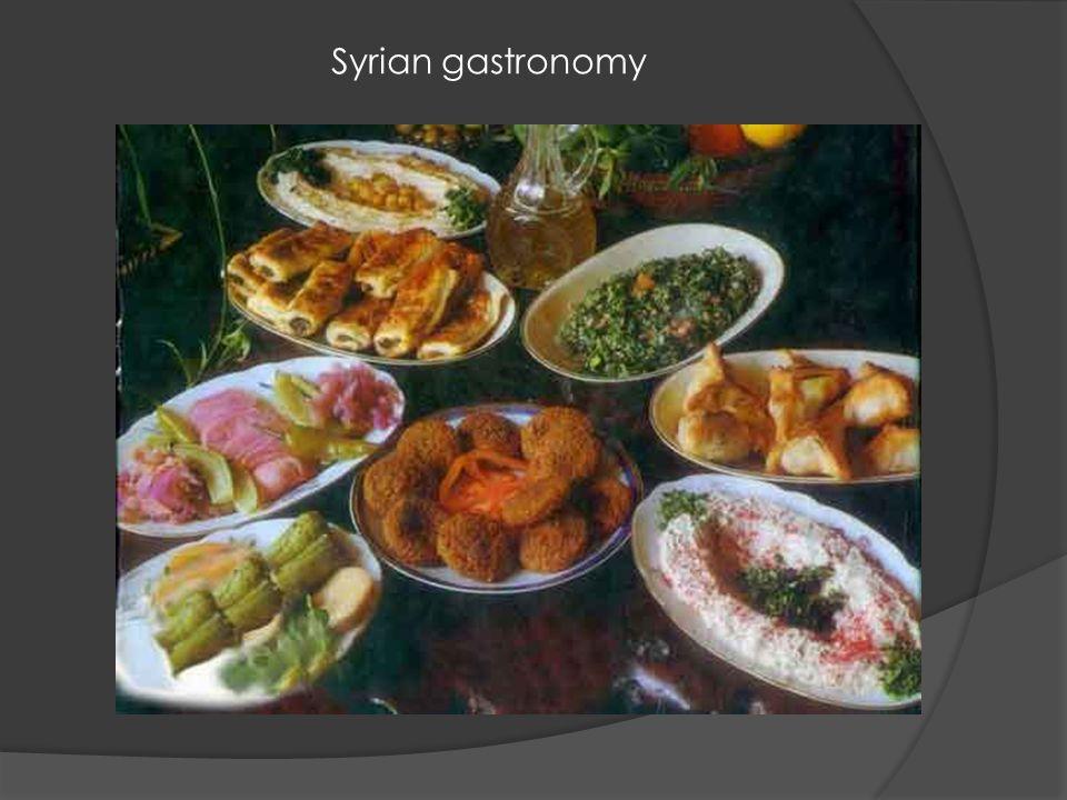 Syrian gastronomy