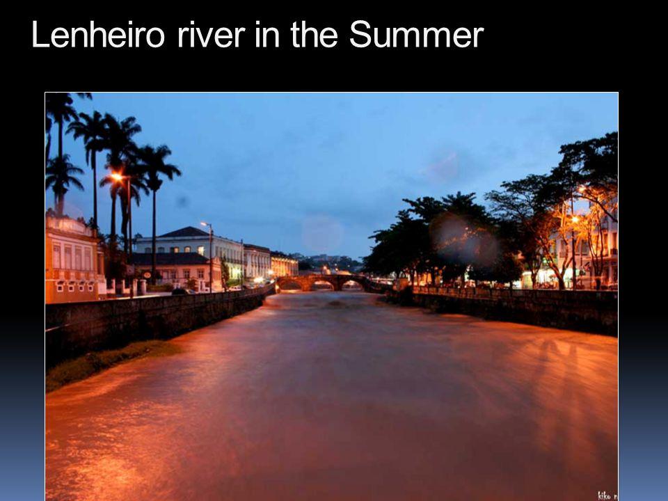 Córrego do Lenheiro after each Summer Rain