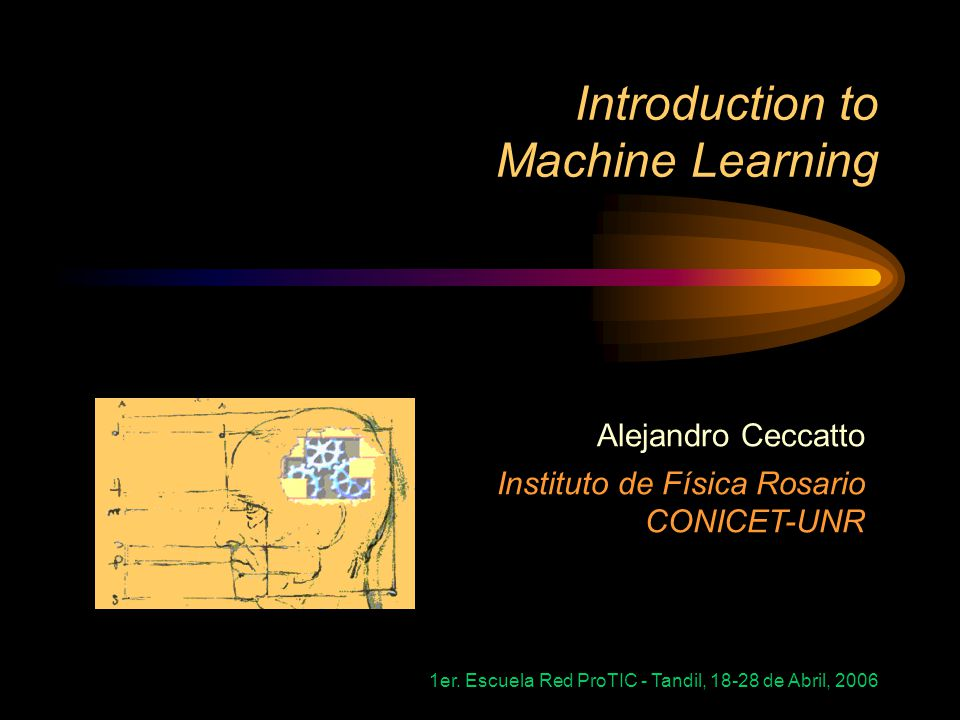 1er. Escuela Red ProTIC - Tandil, 18-28 de Abril, 2006 Why Machine Learning? –Credit Risk Analysis