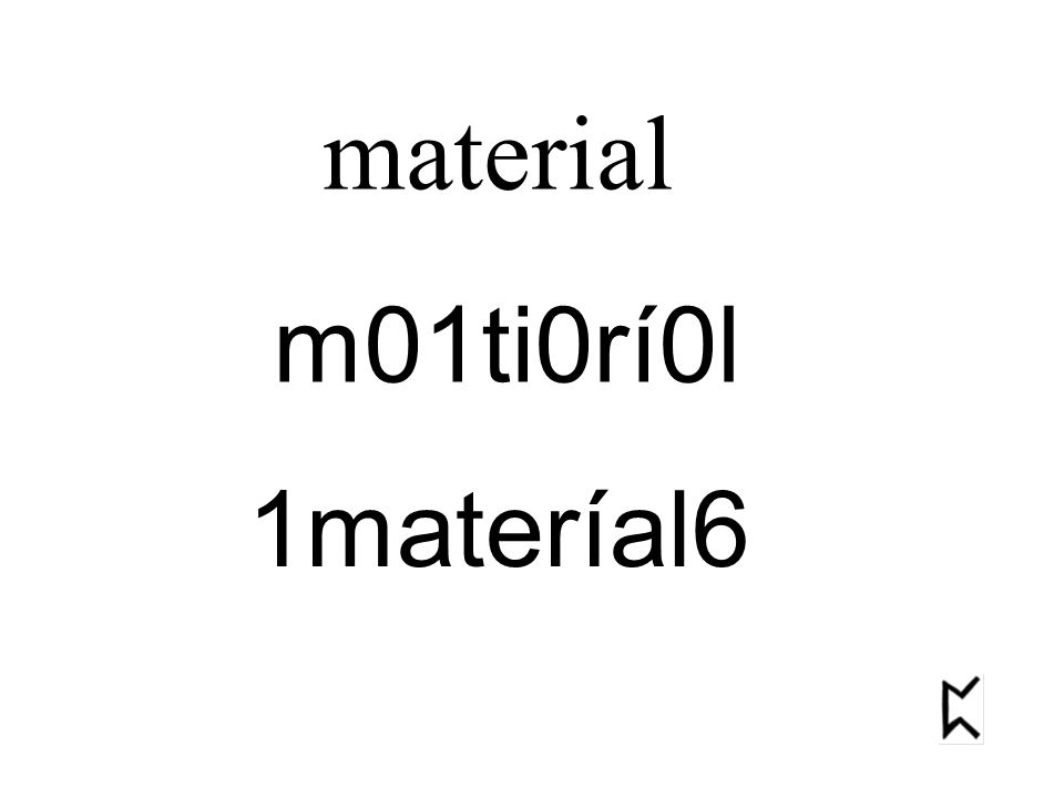 material m01ti0rí0l 1materíal6