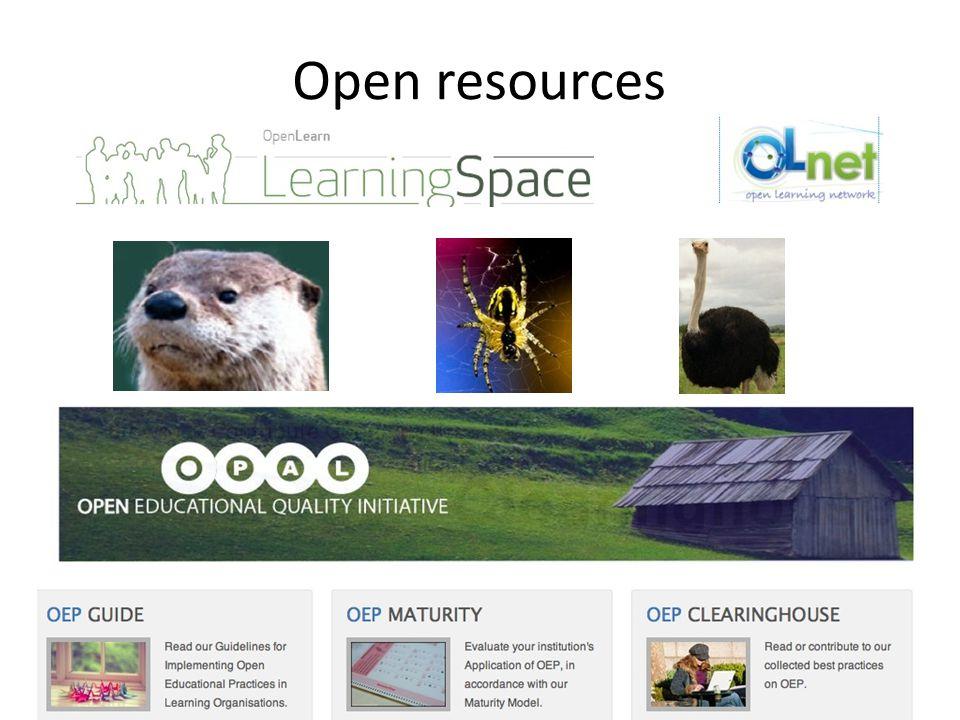 Open resources