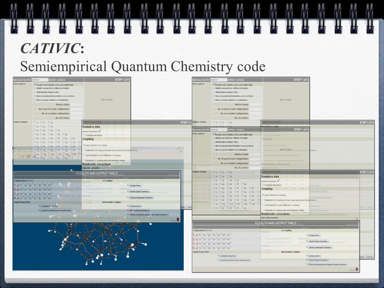CATIVIC: Semiempirical Quantum Chemistry code