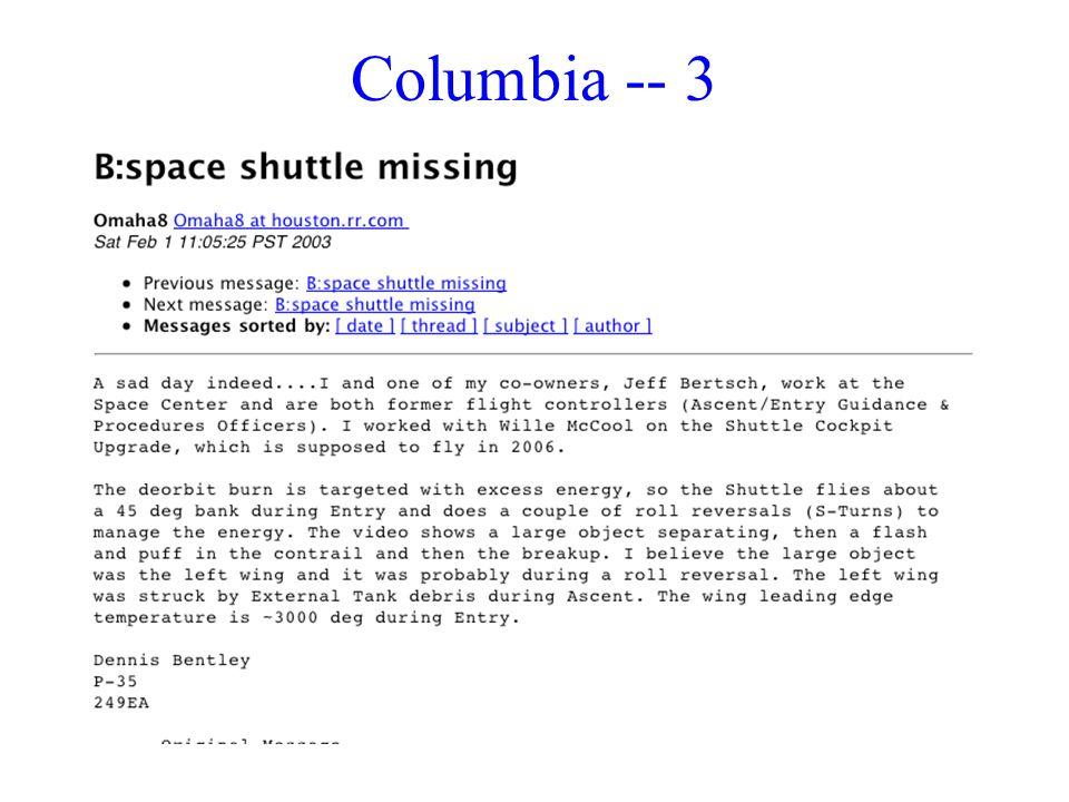 Columbia -- 3