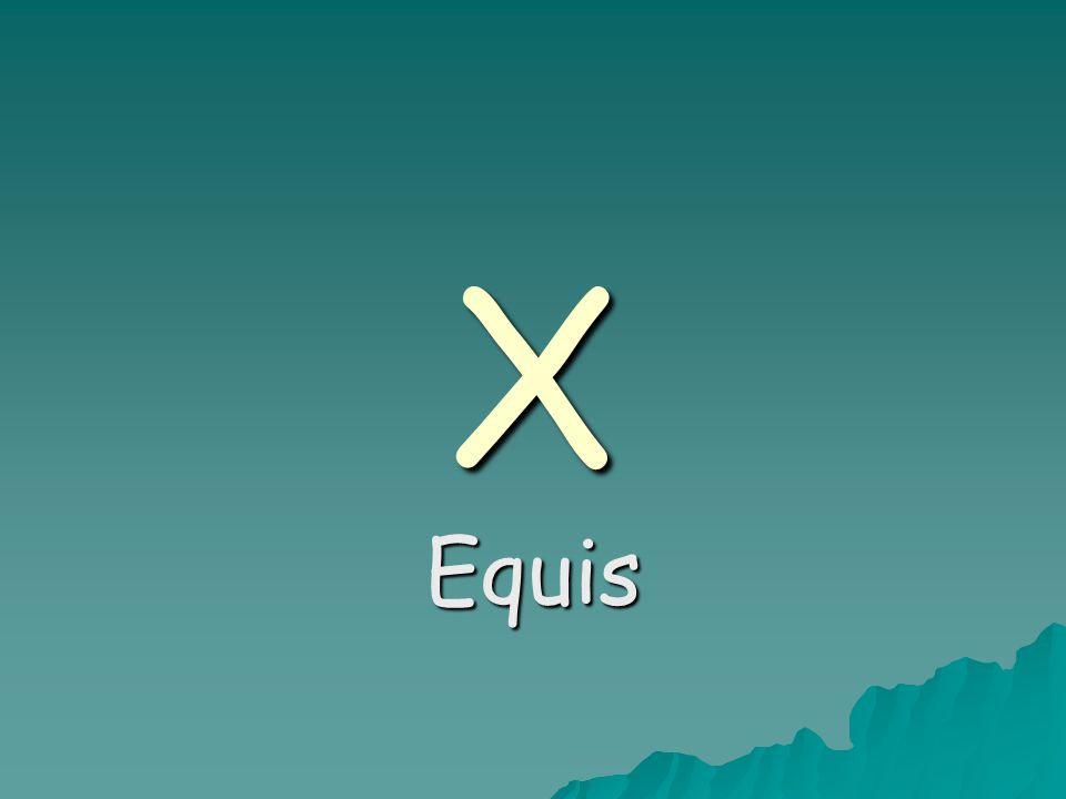 X Equis