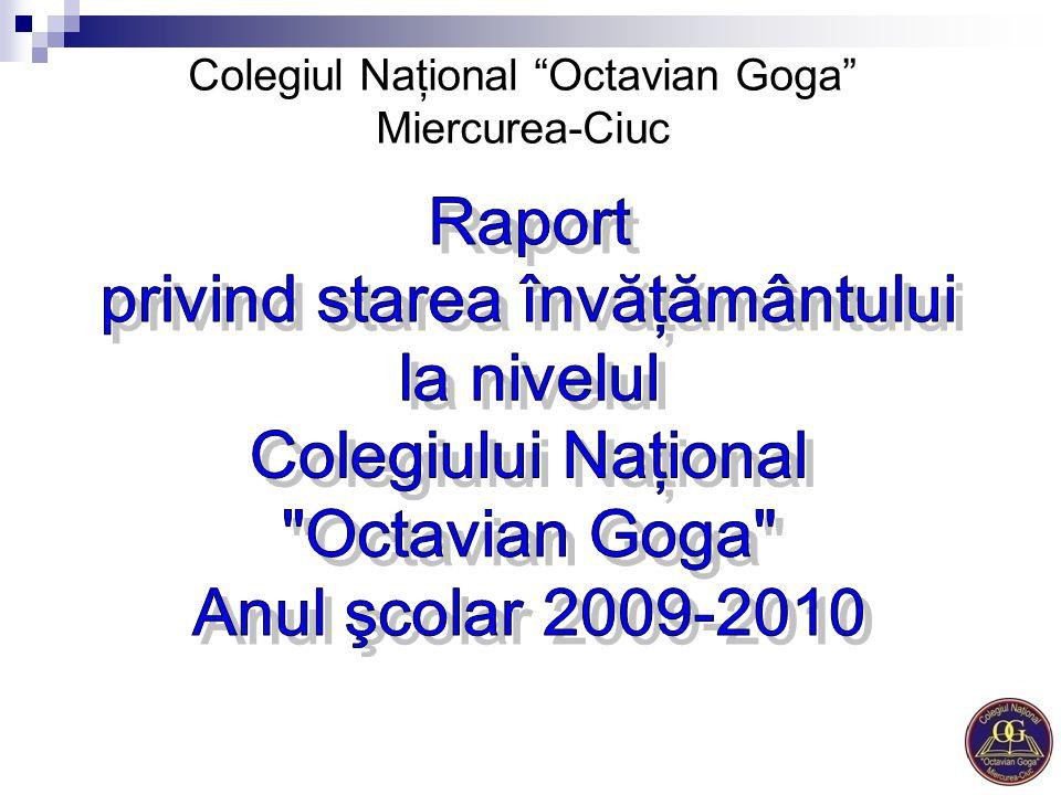 """Colegiul Naţional """"Octavian Goga"""" Miercurea-Ciuc"""