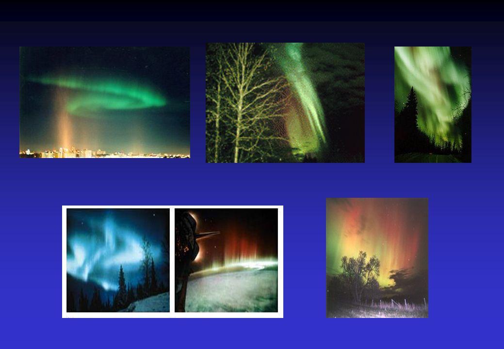 Razni oblici polarnih svetlosti