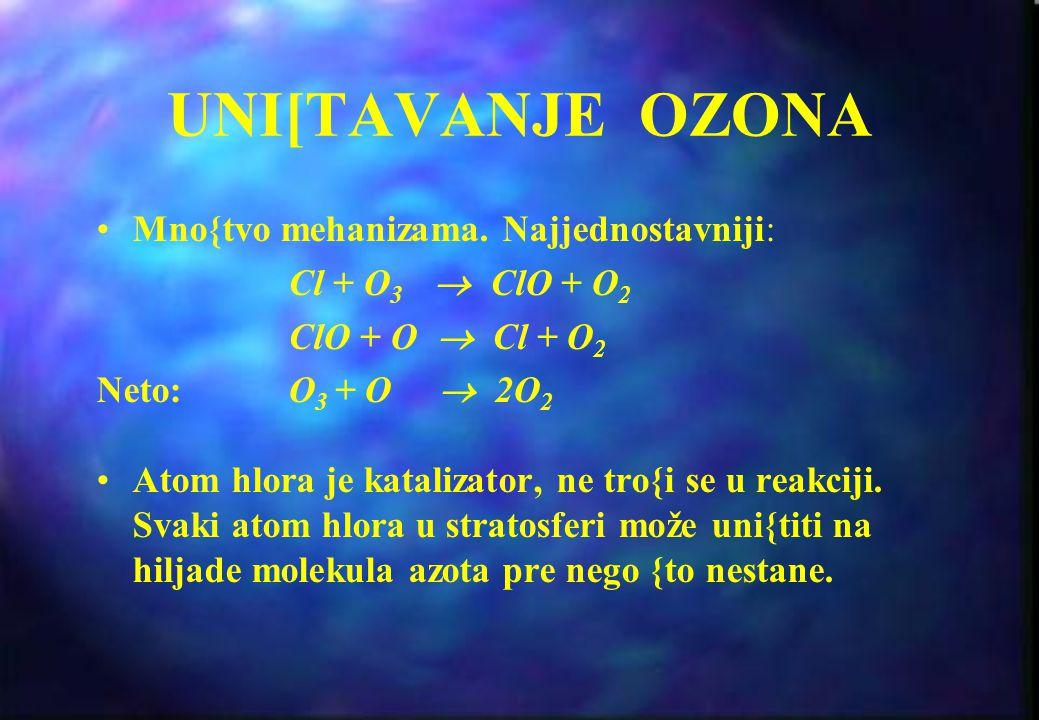 IZVORI BROMA Haloni (sredstva za ga{enje vatre) npr. CF 3 Br (Halon 1301) Metil bromid (pesticid)