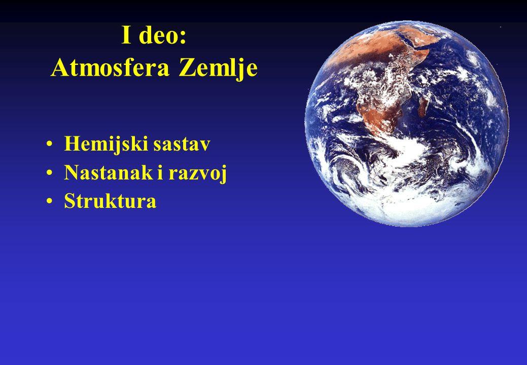 OZONSKI SLOJ I UV RADIJACIJA – DA LI IMA RAZLOGA ZA STRAH? Dr Dragan Gajić