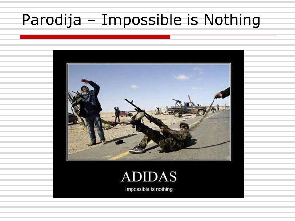 Parodija – Impossible is Nothing