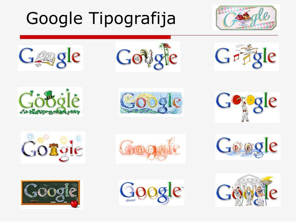 Google Tipografija