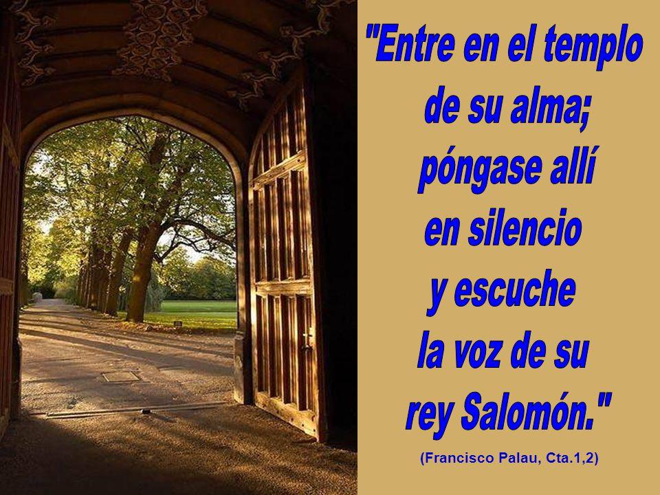(Francisco Palau, Cta.1,2)