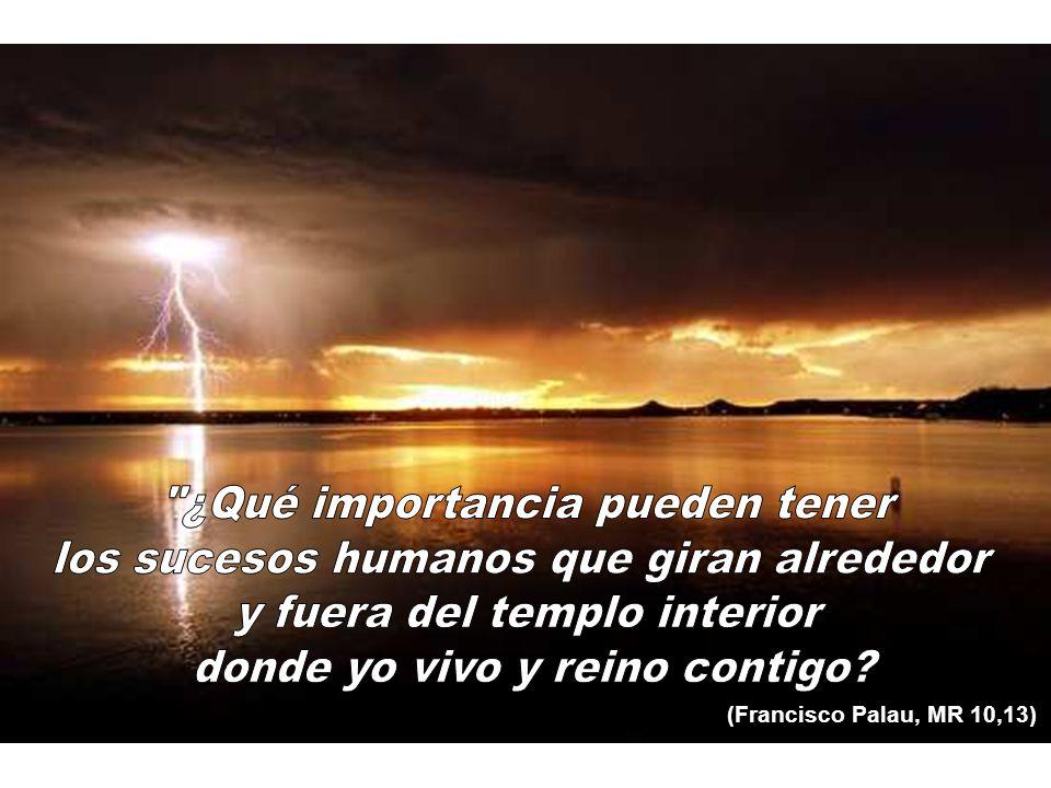 (Francisco Palau, MR 10,13)