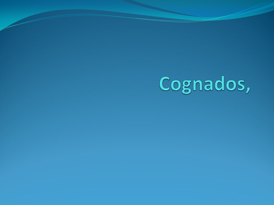 Cognado=cognatus=relative The word cognate derives from Latin cognatus, from co (with) +gnatus, natus, past participle of nasci to be born .[1] Literally it means related by blood, having a common ancestor, or related by an analogous nature, character, or function The word cognate derives from Latin cognatus, from co (with) +gnatus, natus, past participle of nasci to be born .[1] Literally it means related by blood, having a common ancestor, or related by an analogous nature, character, or function