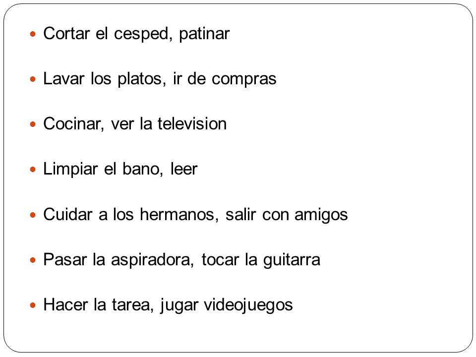Parecer The verb PARECER means to seem and it conjugates like GUSTAR and TOCAR.