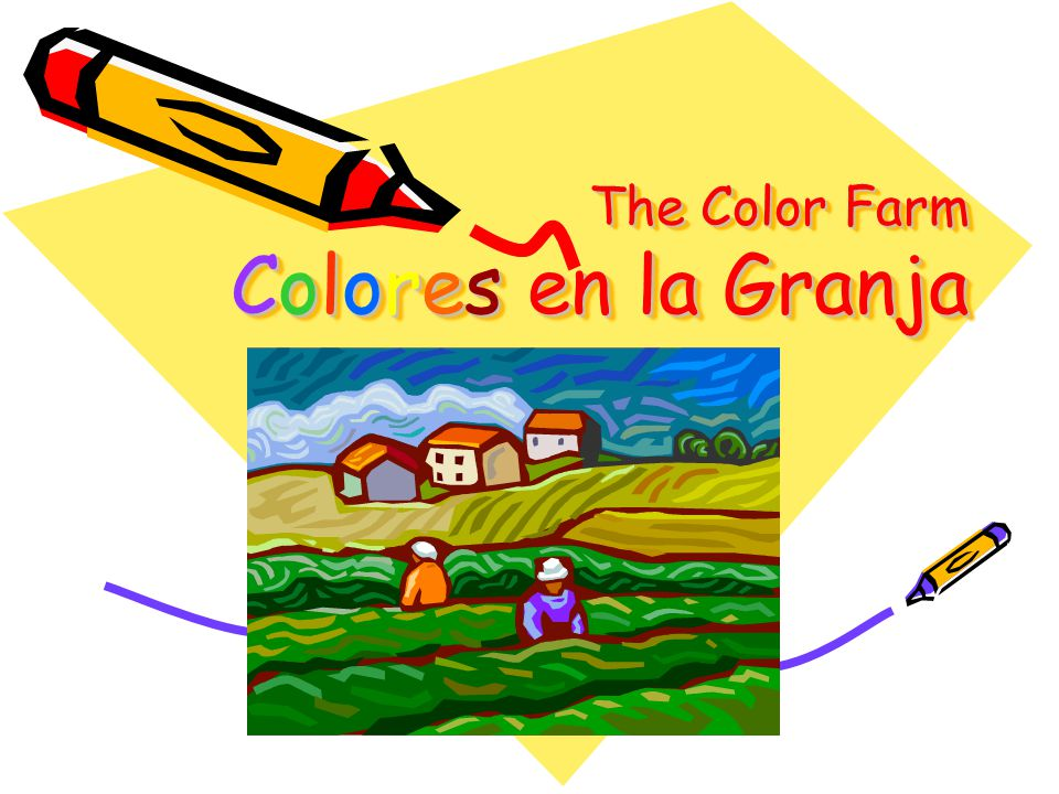 The Color Farm Colores en la Granja