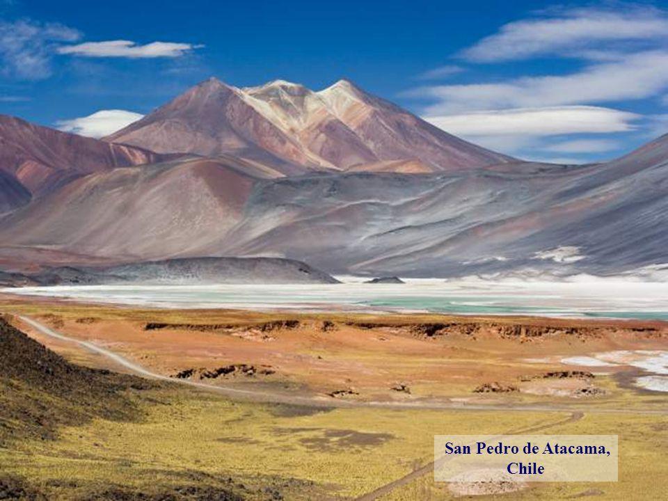 Morénový ledovec, Patagonie, Argentina