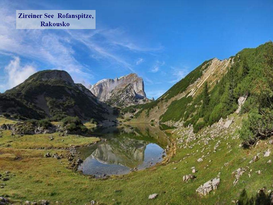 Evropa Aletschgletscher Eggishorn, Švýcarsko